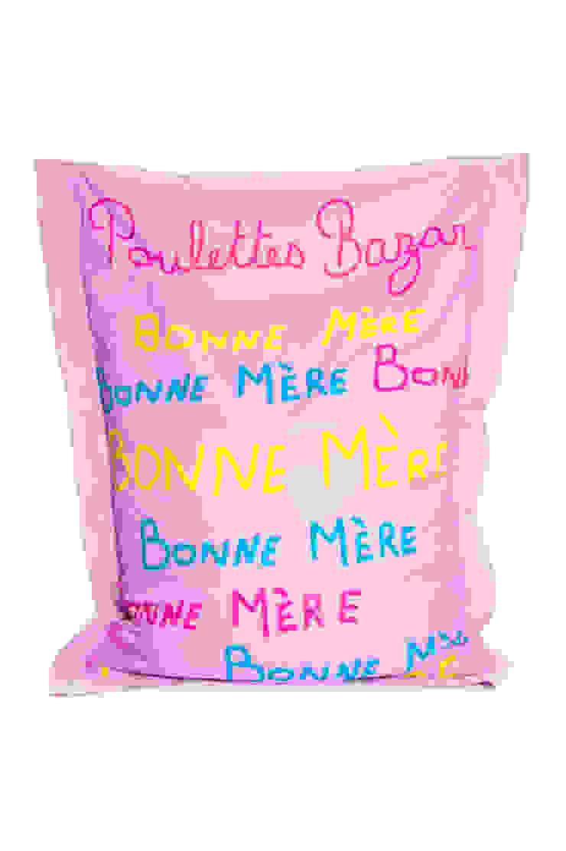 SIT & RELAX BONNE MERE ROSE par POULETTES BAZAR Éclectique