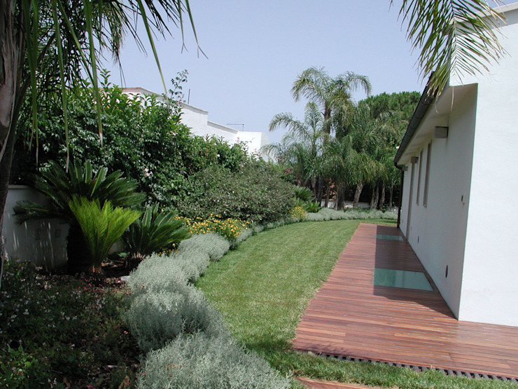 Vườn: thiết kế nội thất · bố trí · Ảnh bởi MELLOGIARDINI EXTERIOR DESIGNERS
