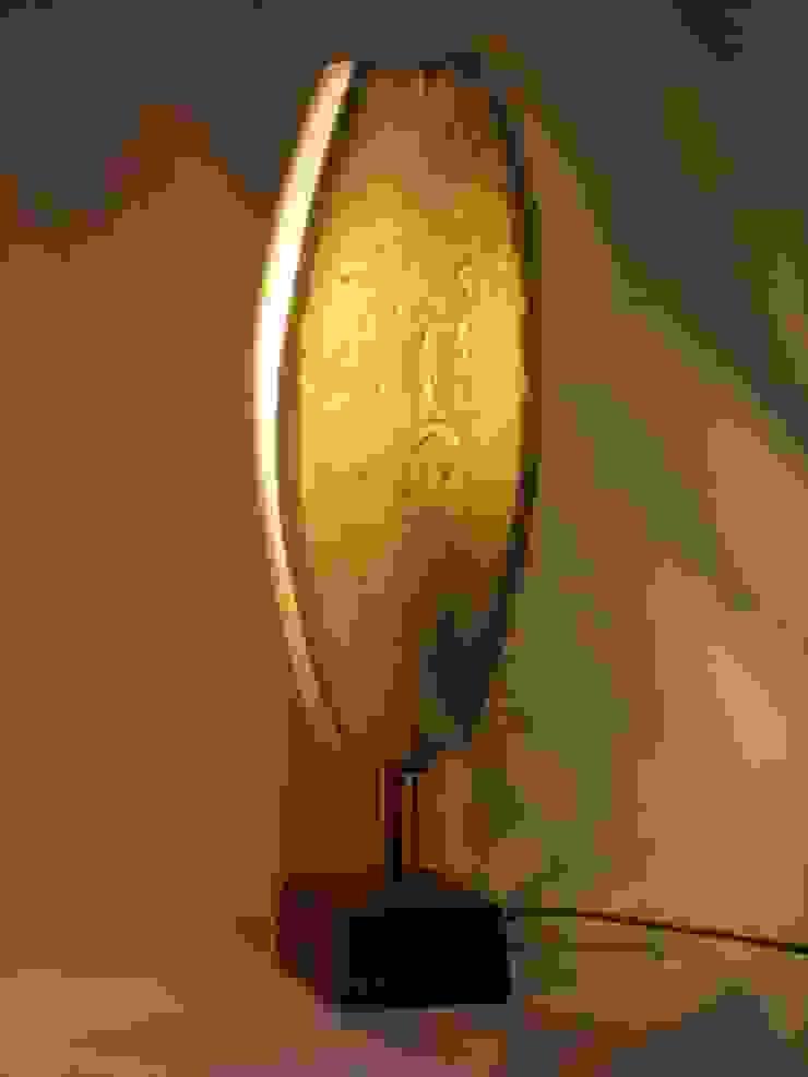 lampe porcelaine par GF Gueneau Éclectique