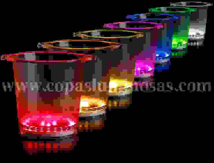 Cubiteras Luminosas de Copas Luminosas
