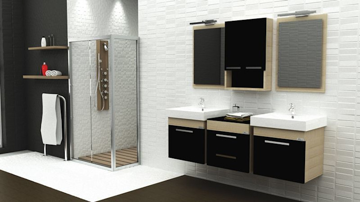 根據 MAESTA BATHROOM FURNITURE 現代風