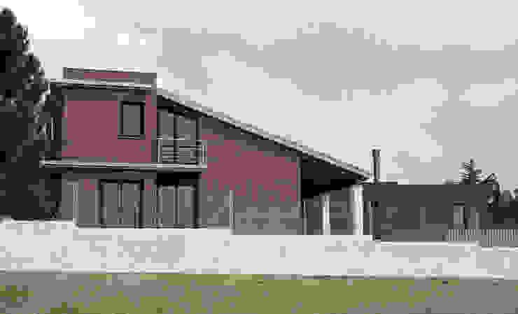 SouthWest façade 모던스타일 주택 by FG ARQUITECTES 모던
