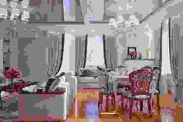 Гостиная Гостиная от студия Design3F
