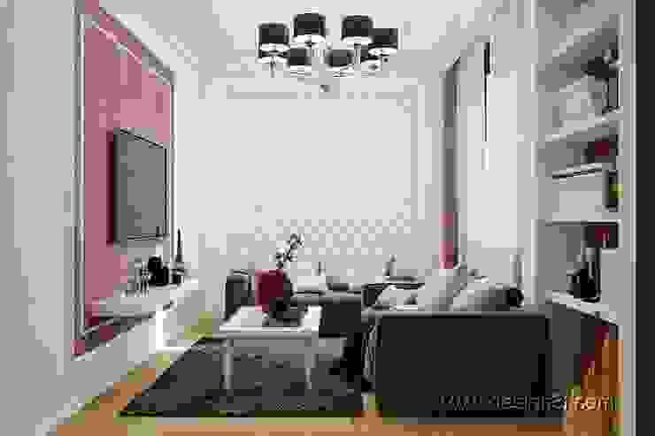 Salas de estilo  por студия Design3F,