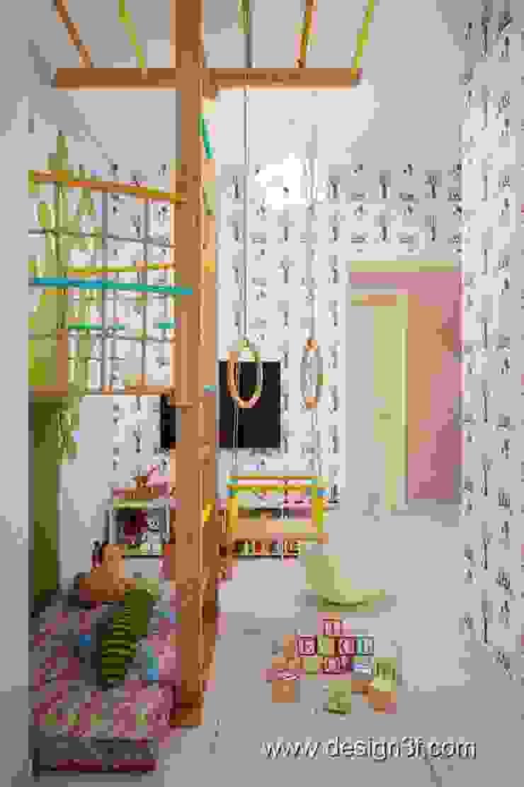 Игровая комната Детская от студия Design3F