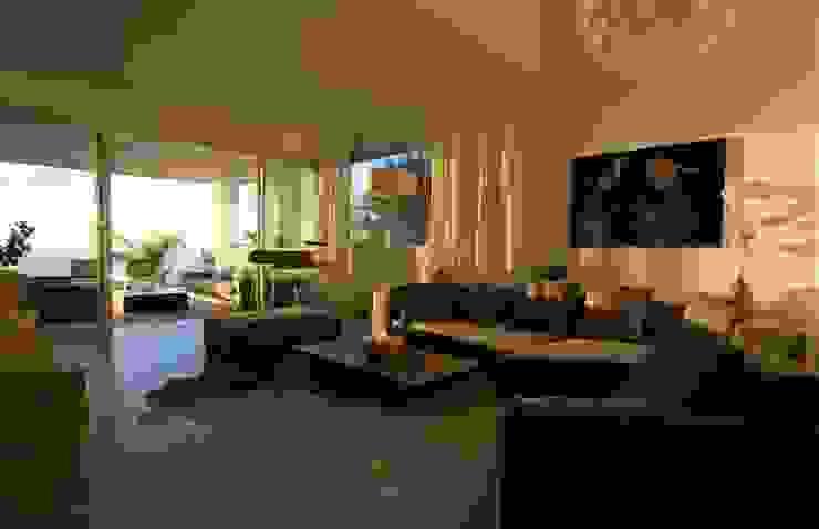 Salón Salones de estilo moderno de SH asociados - arquitectura y diseño Moderno