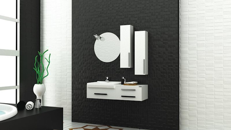 modern  by MAESTA BATHROOM FURNITURE, Modern