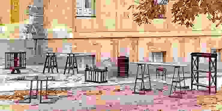 Mesas, borriquetas y librerias de MUEBLES DE LA GRANJA Rústico