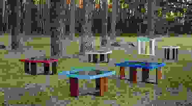 Mesas en nuestro entorno. de MUEBLES DE LA GRANJA Rústico