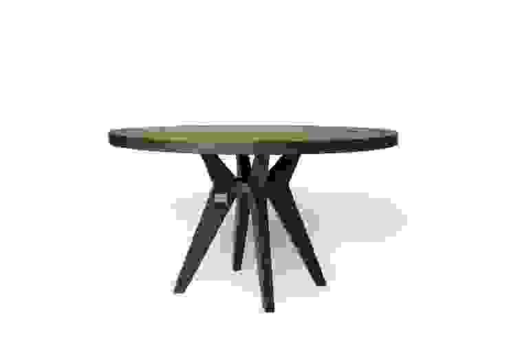 Mr. BowTie ronde koffietafel D. 80 x H. 60 cm: modern  door Masshiro, Modern