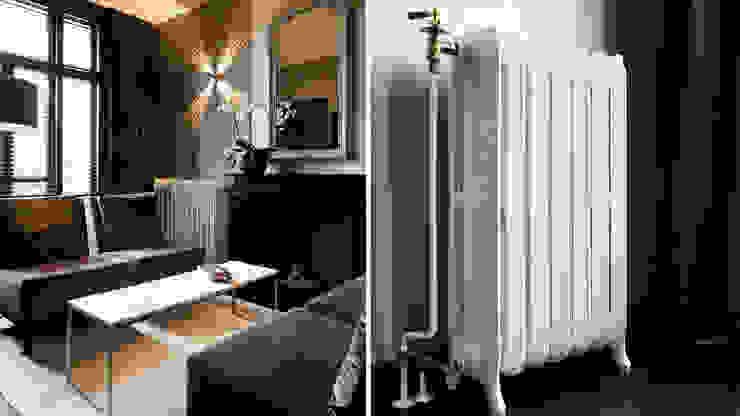 De rooksalon Klassieke woonkamers van choc studio interieur Klassiek