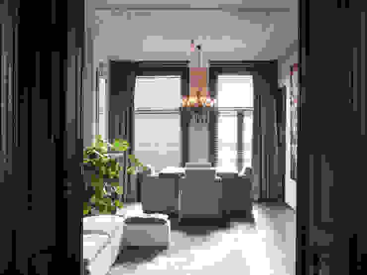 luxe appartement in hartje Amsterdam Eclectische woonkamers van choc studio interieur Eclectisch
