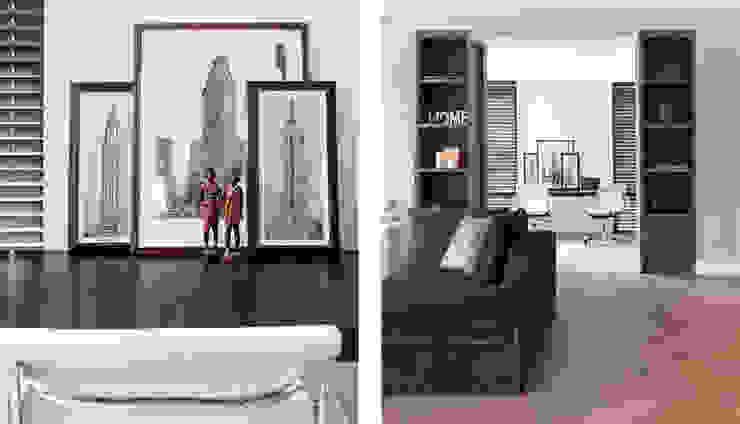 wonen en werken op 1 plek choc studio interieur Moderne woonkamers