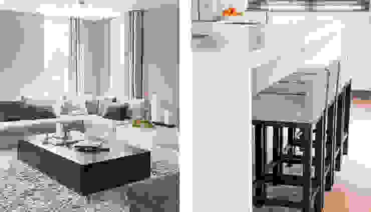 keuken in Italiaanse stijl choc studio interieur Moderne keukens