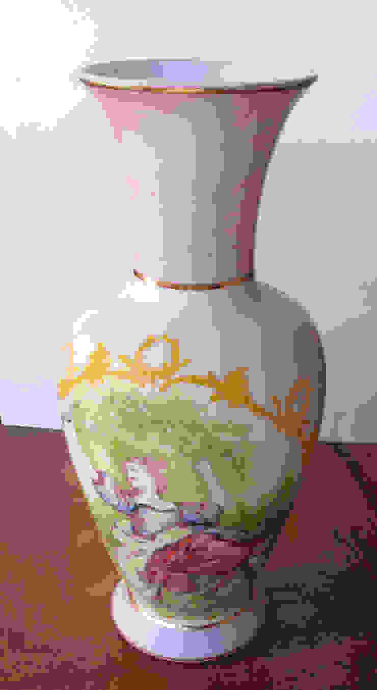 vase scène champêtre par Atelier d'artiste SYRIEX RD Classique