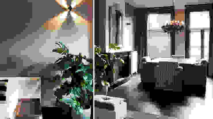 wonen in hotelsfeer Moderne woonkamers van choc studio interieur Modern