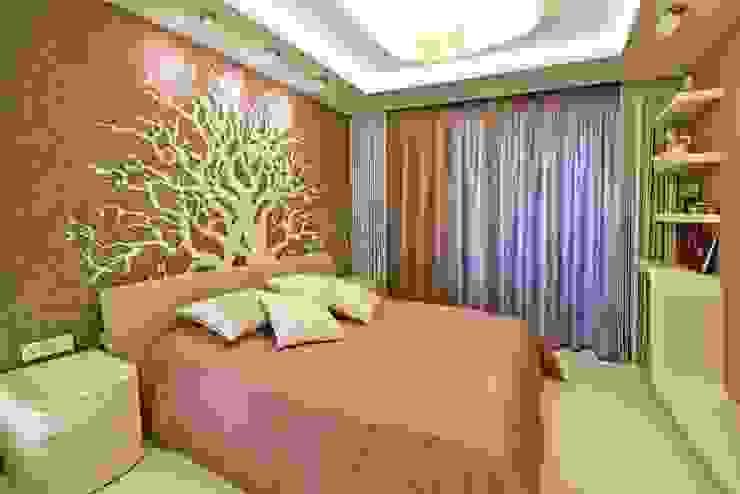Квартира в Эко стиле Спальня в эклектичном стиле от Студия дизайна Эклектичный