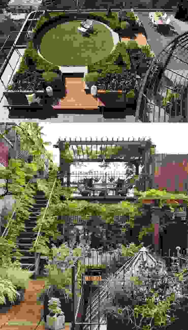 Casas de estilo ecléctico de Dotto Francesco consulting Green Ecléctico