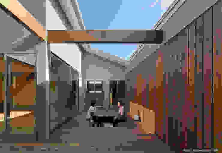 TOHKOU HOUSE ミニマルな 庭 の 松岡健治一級建築士事務所 ミニマル