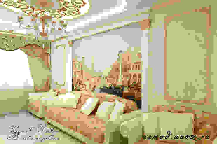 Квартира в Москве, гостиная.: Гостиная в . Автор – Цунёв_Дизайн. Студия интерьерных решений.