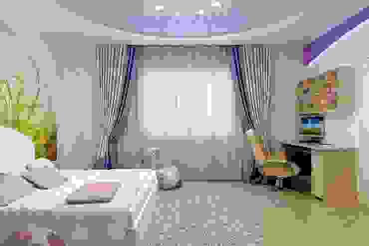 Детская для маленькой феи Детская комната в стиле модерн от Цунёв_Дизайн. Студия интерьерных решений. Модерн