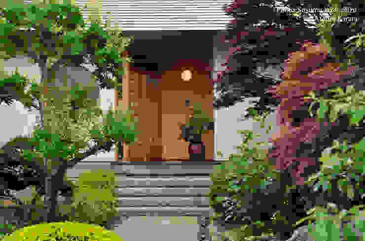 アトリエきらら一級建築士事務所 Jardines de estilo moderno