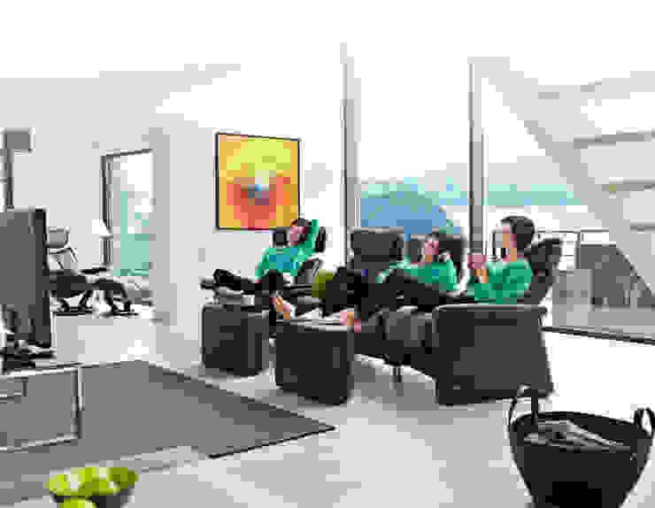 Il tuo salotto diventa la tua sala cinema Negozi & Locali commerciali moderni di Stressless Poltrone Moderno