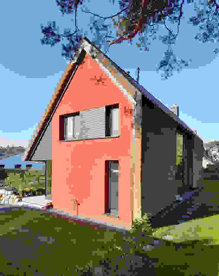 Fassade Giebel Möhring Architekten Moderne Häuser