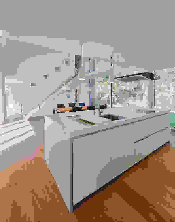 Wohnraum Küche Essbereich Möhring Architekten Moderne Küchen