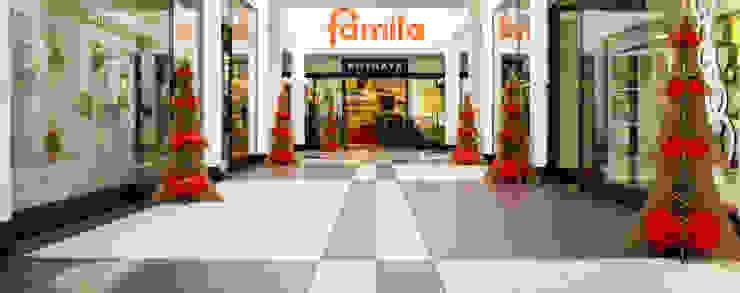 """Natale originale e ecologico con i nostri alberi """"Bon"""" Centri commerciali in stile eclettico di Nardi Mobili in Cartone Eclettico"""