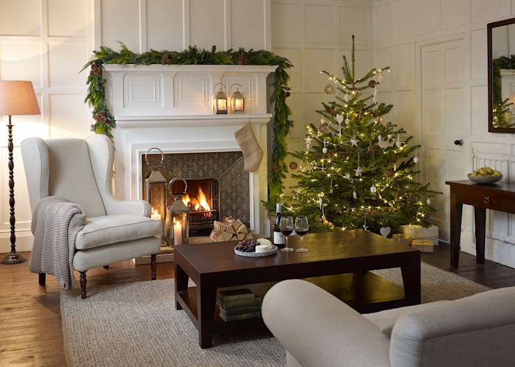 ​Christmas Inspiration: The Tree LOMBOK Salas de estar campestres