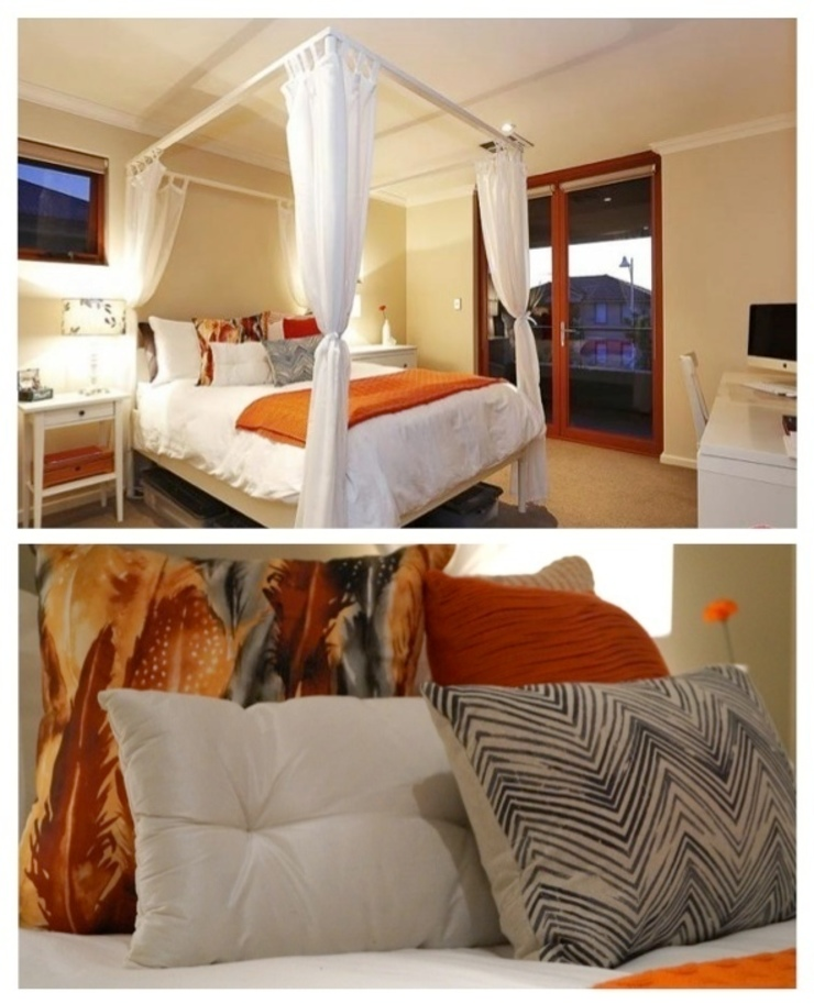 Bedroom 1 Eclectic style bedroom by Adorn Interior Design Eclectic