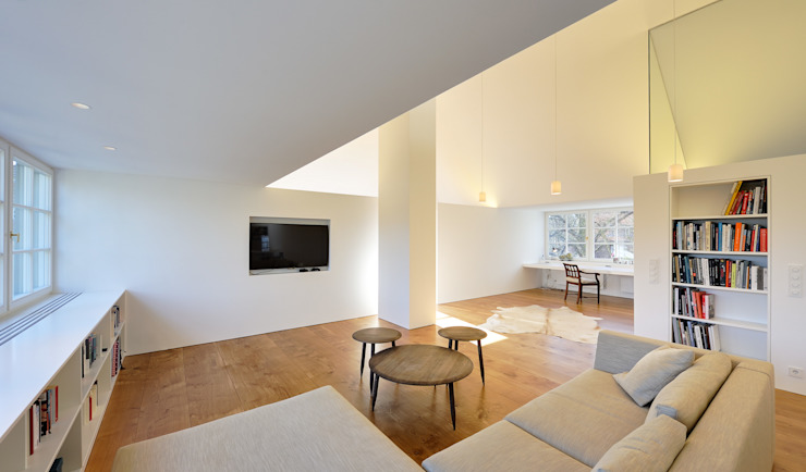 Living room by Möhring Architekten, Modern