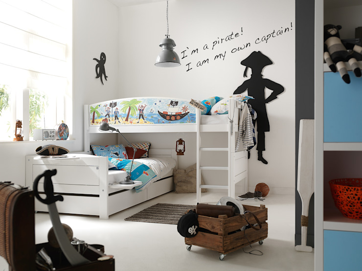 Pirate Corner Boys Bunk Bed Cuckooland Kolonyal