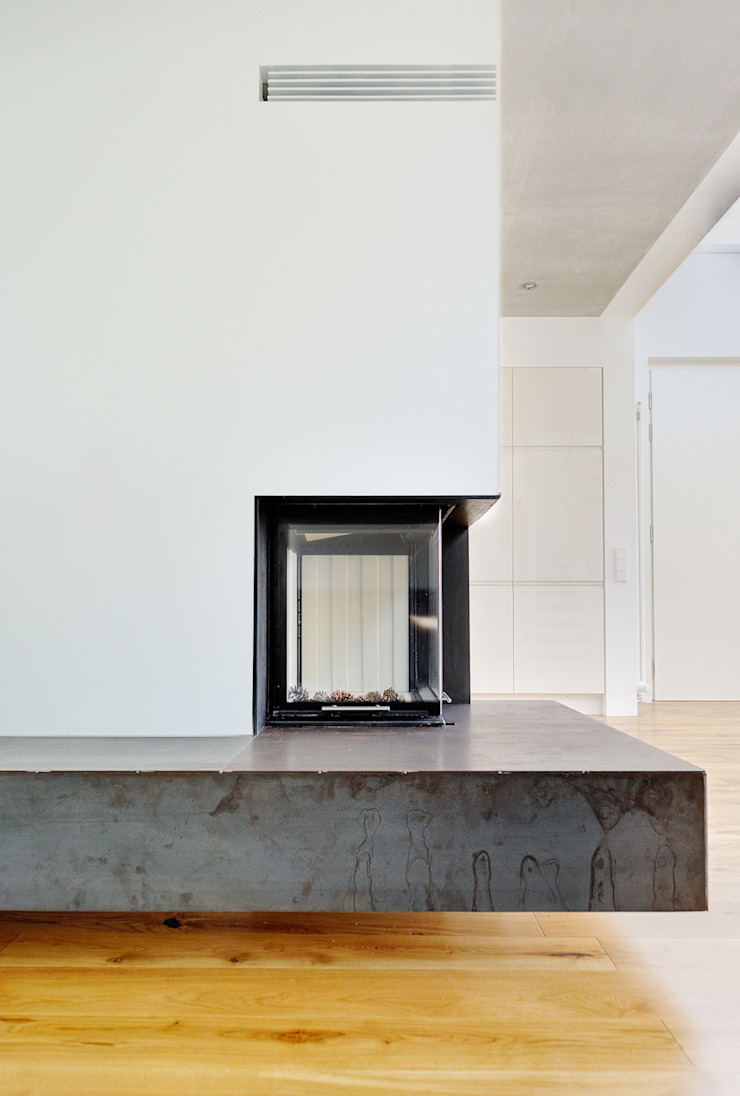 Livings de estilo moderno de Möhring Architekten Moderno