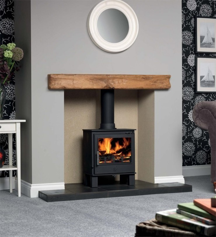 ACR Malvern DEFRA Approved Wood Burning / Multi Fuel Stove: modern  by Direct Stoves, Modern