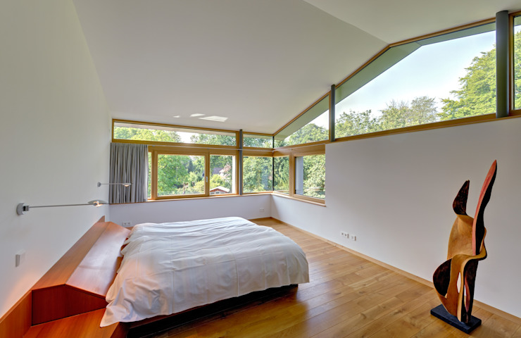 Möhring Architekten Modern style bedroom