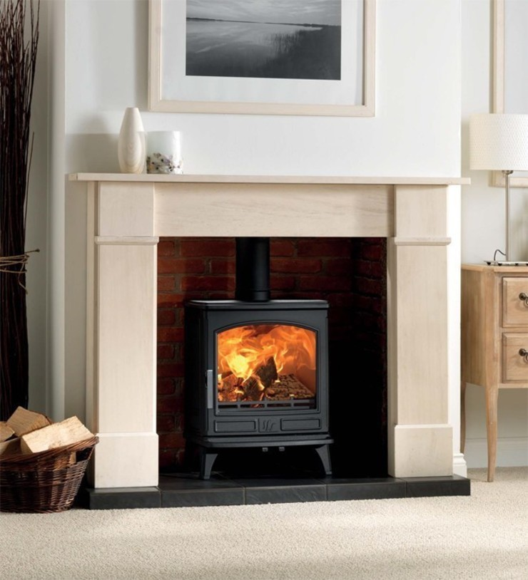 ACR Ashdale DEFRA Approved Multi Fuel Stove: modern  by Direct Stoves, Modern