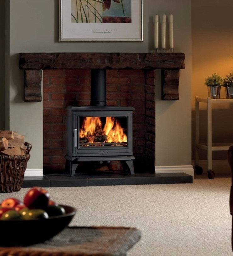 ACR Rowandale DEFRA Approved Wood Burning / Multi Fuel Stove: modern  by Direct Stoves, Modern