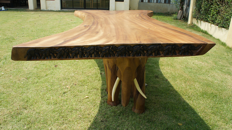 The Elephant Table Mango Crafts Rustik