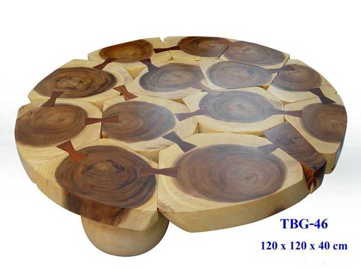 Acacia/Teak Furniture Mango Crafts Living roomSide tables & trays