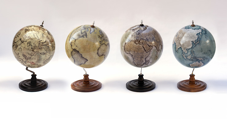 Bellerby & Co Globemakers: Handcrafted Terrestrial and Celestial World Globes: modern  by Bellerby and Co Globemakers, Modern