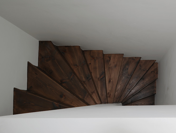 Tanners Hill Rustic style corridor, hallway & stairs by The Modern House Rustic