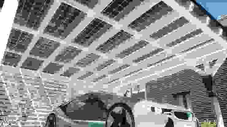 di Solarterrassen & Carportwerk GmbH Moderno
