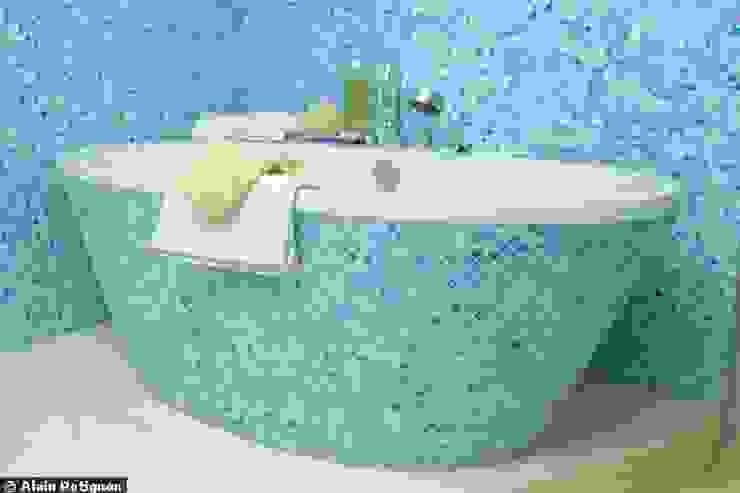 LOFT R - Aménagement d'un plateau à PARIS XI Salle de bain moderne par Agence d'architecture Odile Veillon / ARCHI-V.O Moderne