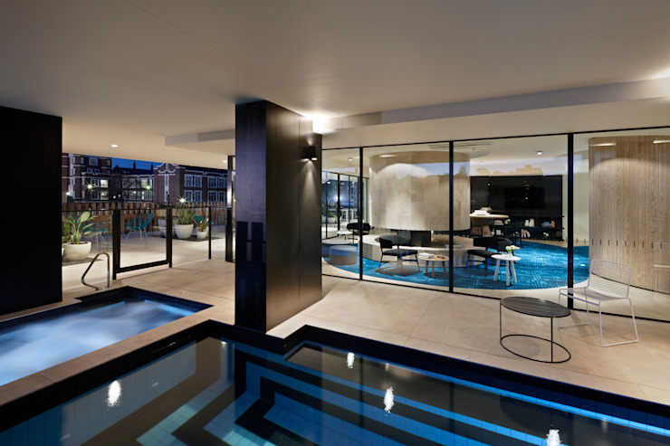 Claremont Apartments Modern houses by Hassell Studio Modern