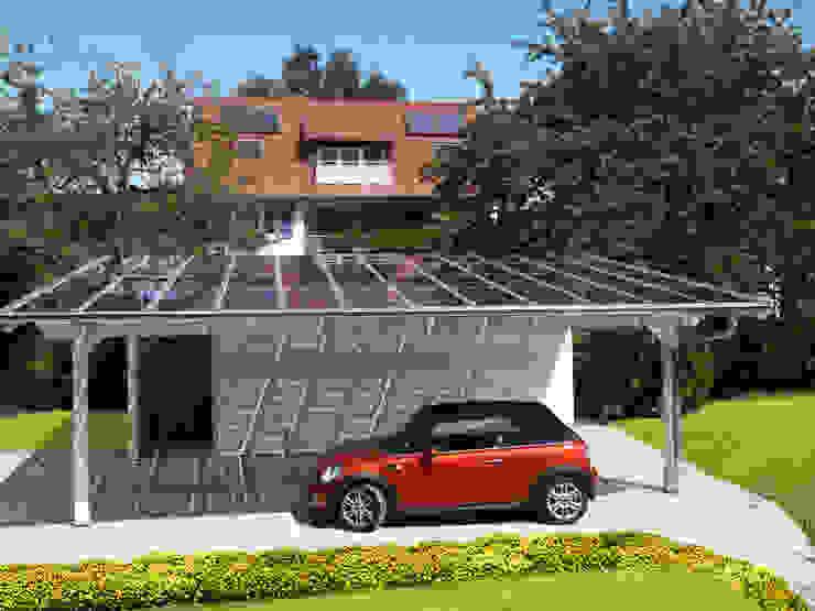 Garages & sheds by Solarterrassen & Carportwerk GmbH,