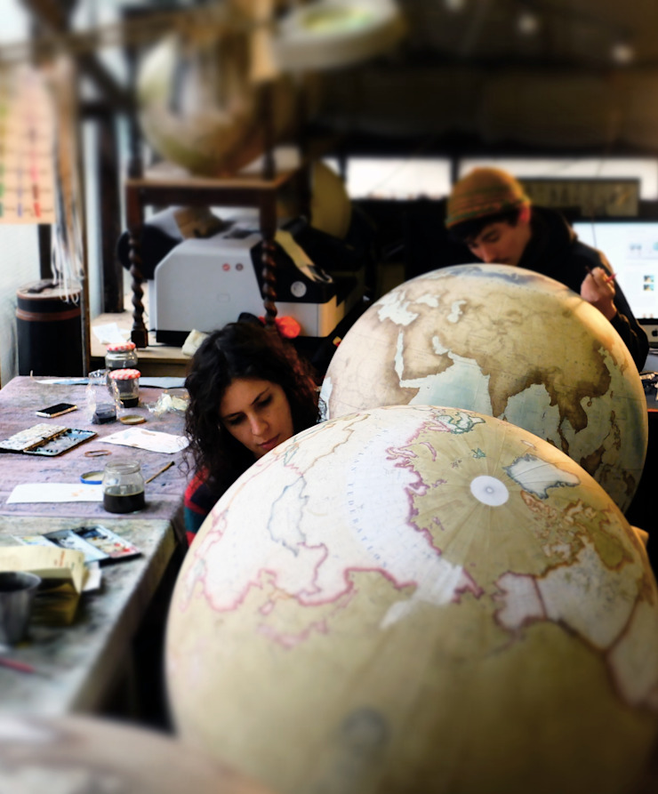 de estilo colonial por Bellerby and Co Globemakers , Colonial