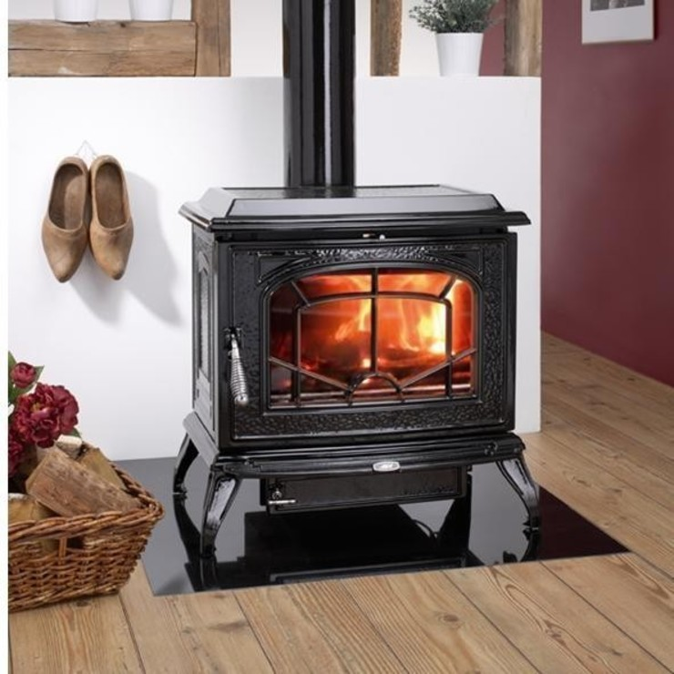 AGA Berrington Wood Burning / Multi Fuel Stove: country  by Direct Stoves, Country