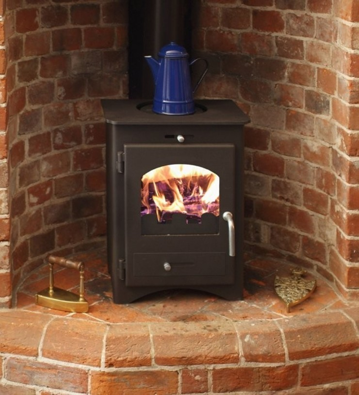 Bohemia 30 Multi Fuel Stove: modern  by Direct Stoves, Modern